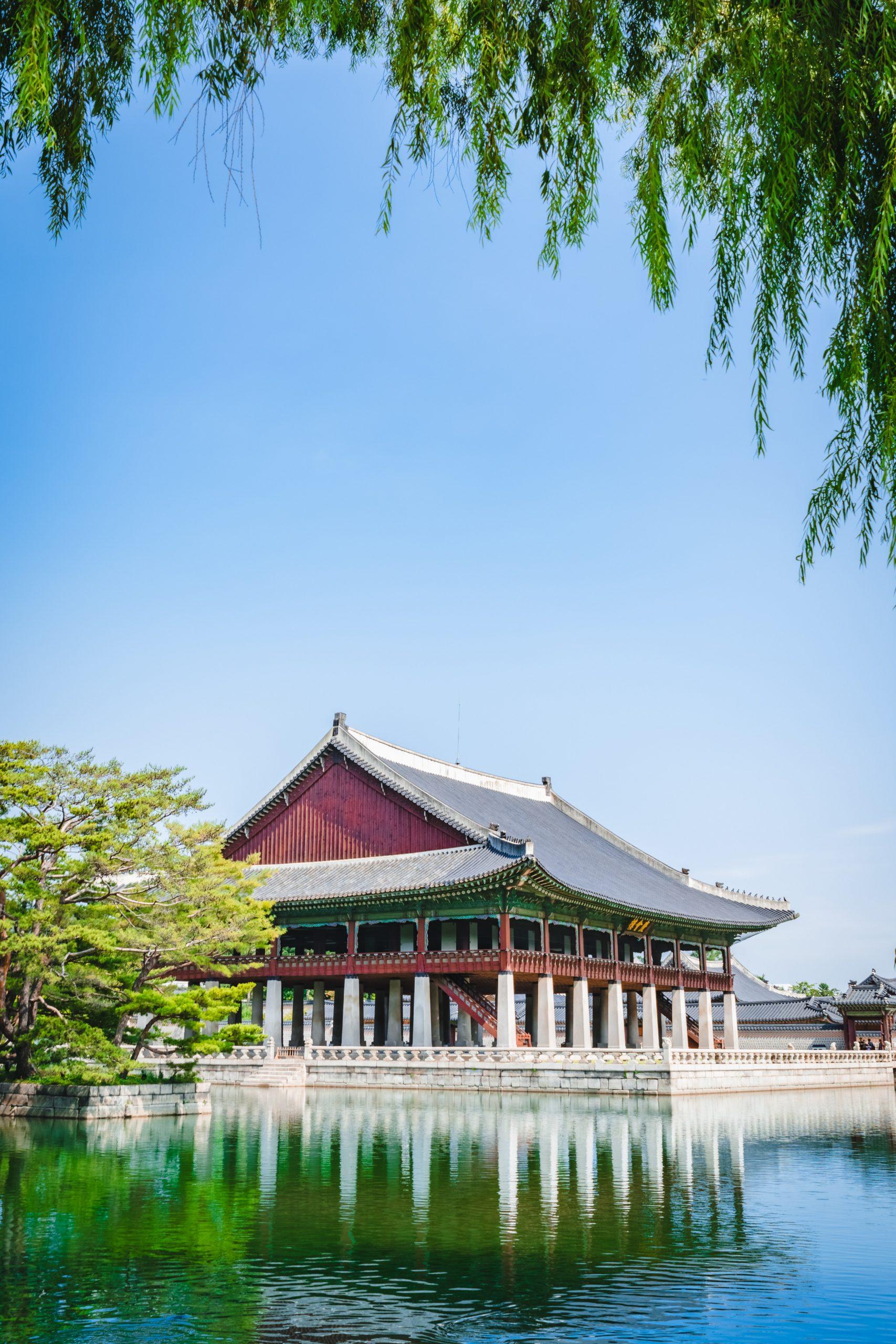 รูปภาพ : เที่ยวเกาหลี พระราชวังเคียงบกกุง (Gyeongbokgung Palace)