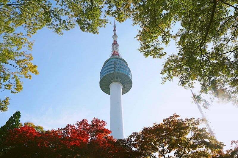 รูปภาพ : เที่ยวเกาหลี โซล ทาวเวอร์ หรือ นัมซาน ทาวเวอร์ N Seoul Tower