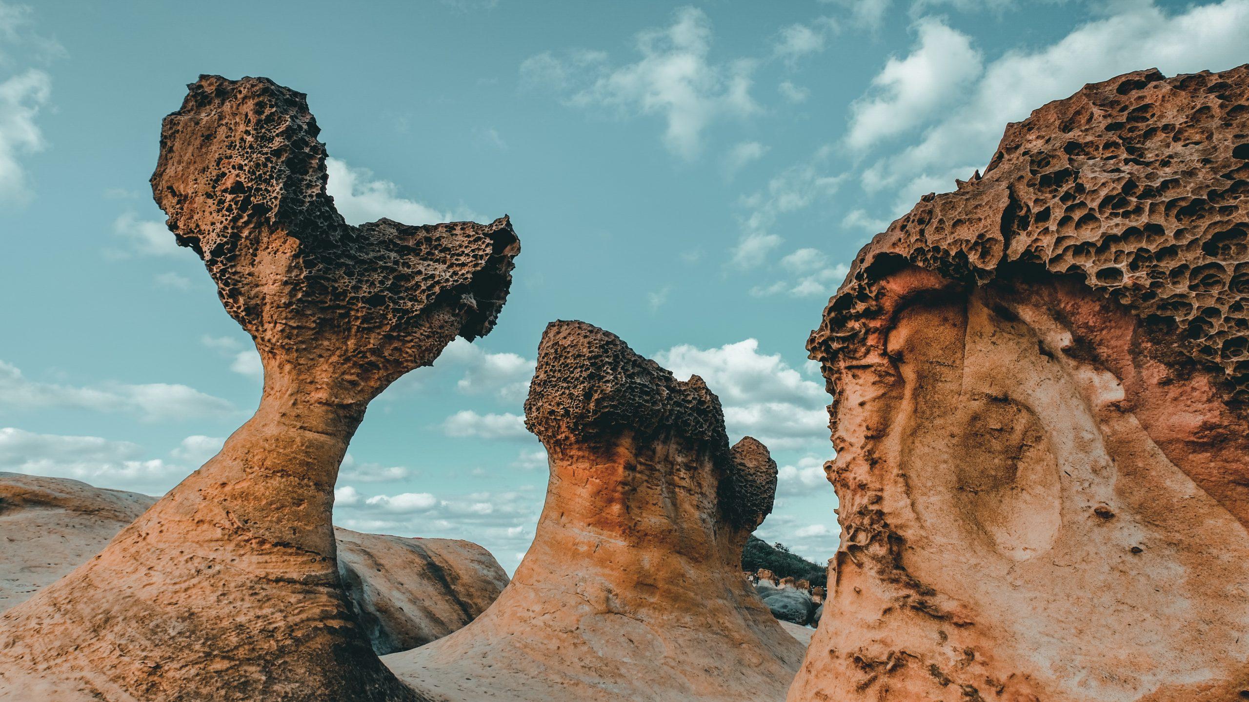 รูปภาพ : เที่ยวไต้หวัน อุทยานธรณีเย่หลิว (Yehliu Geopark)