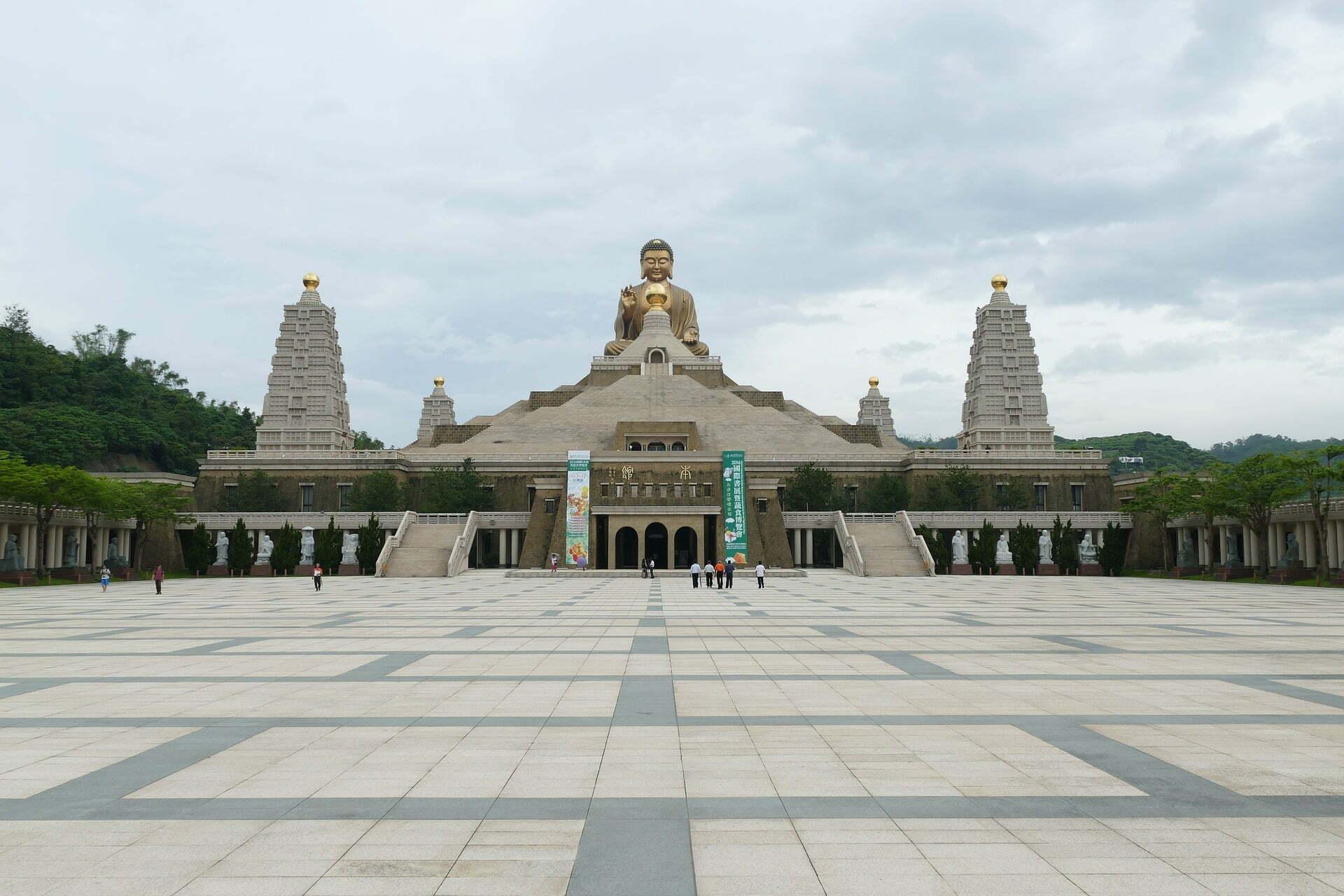 รูปภาพ : เที่ยวไต้หวัน Fo Guang Shan Buddha Memorial Center
