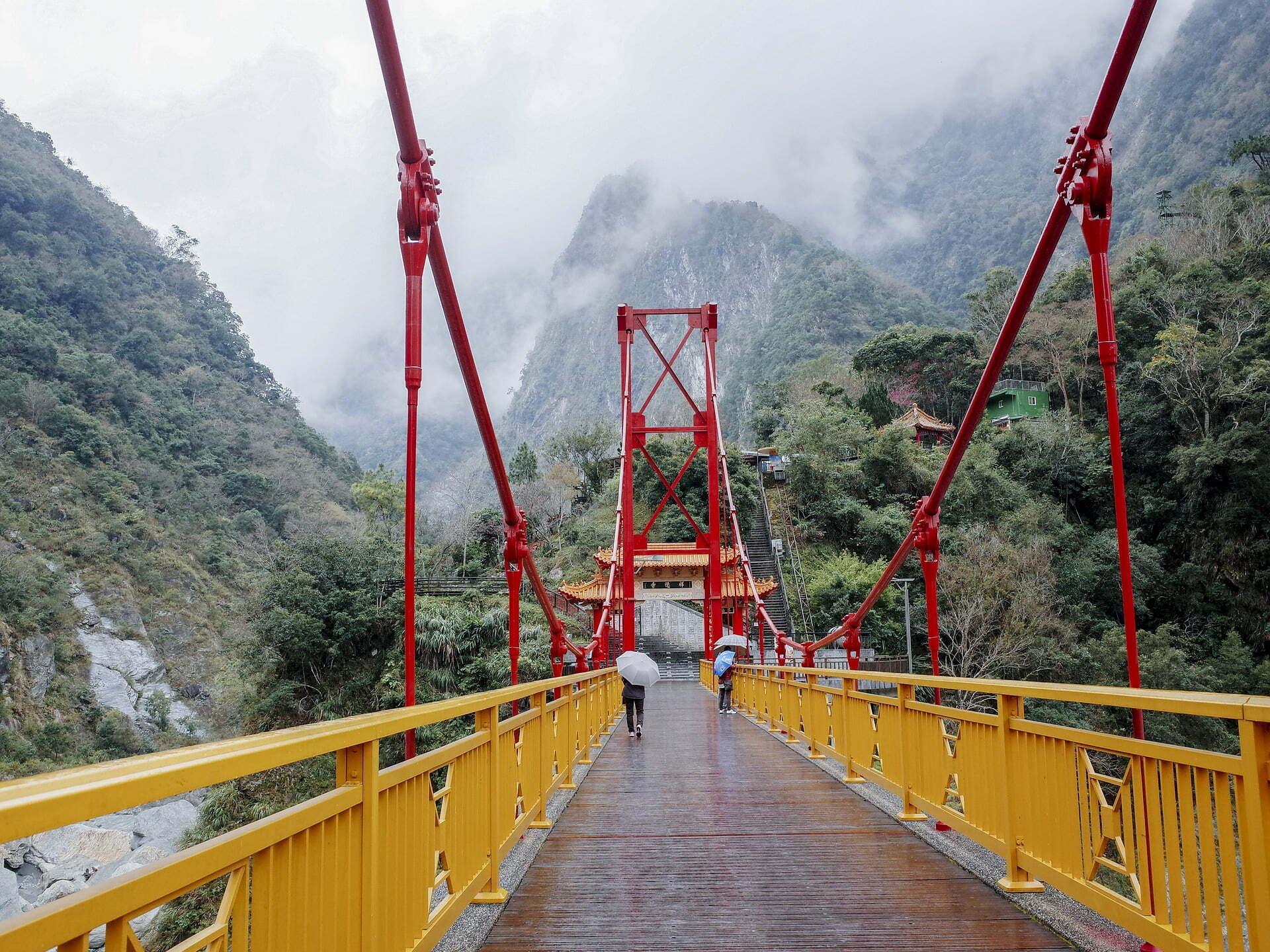 รูปภาพ : เที่ยวไต้หวัน อุทยานแห่งชาติทาโระโกะ (Taroko National Park)